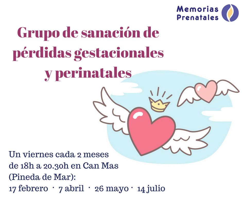 Grupo de sanación de pérdidas gestacionales y perinatales